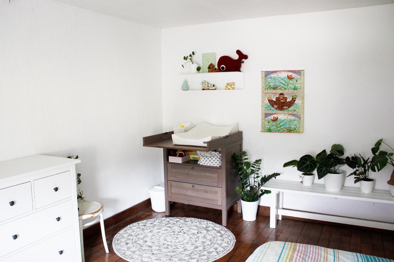 Babyhoekje op onze slaapkamer – LINSPIRATION