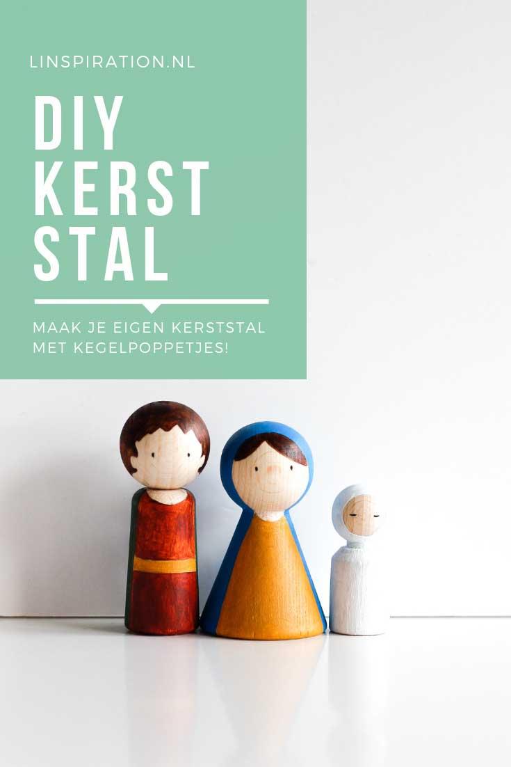 DIY Kerststal pegdolls | Linspiration.nl