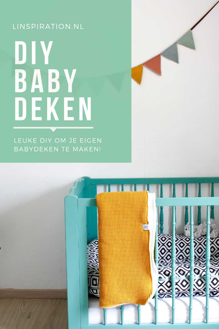 Leuke diy om je eigen babydekentje te naaien! | Linspiration.nl