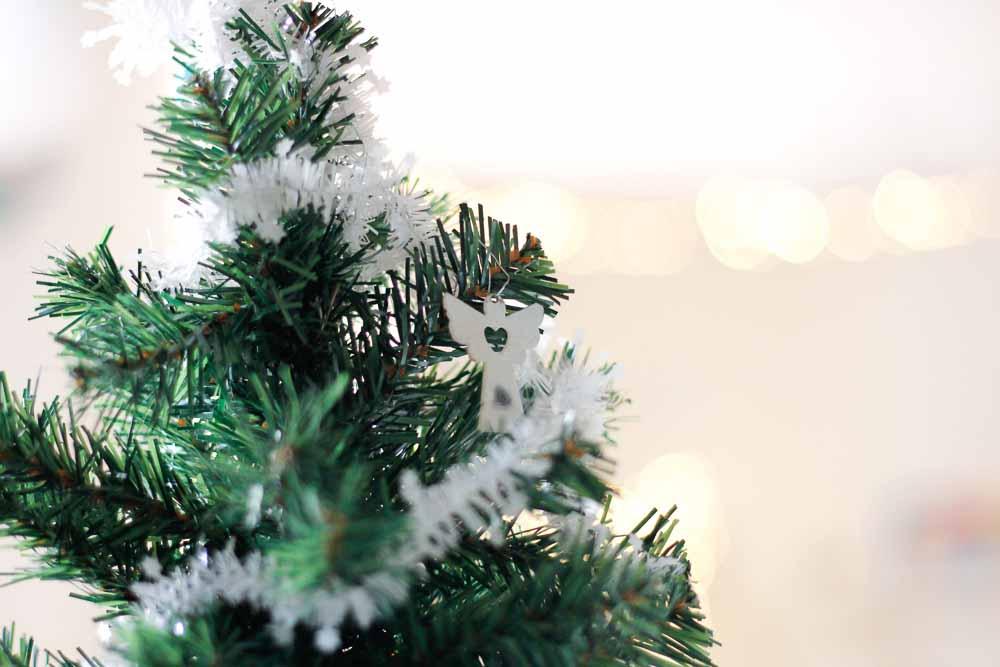 kerstboom met engeltje