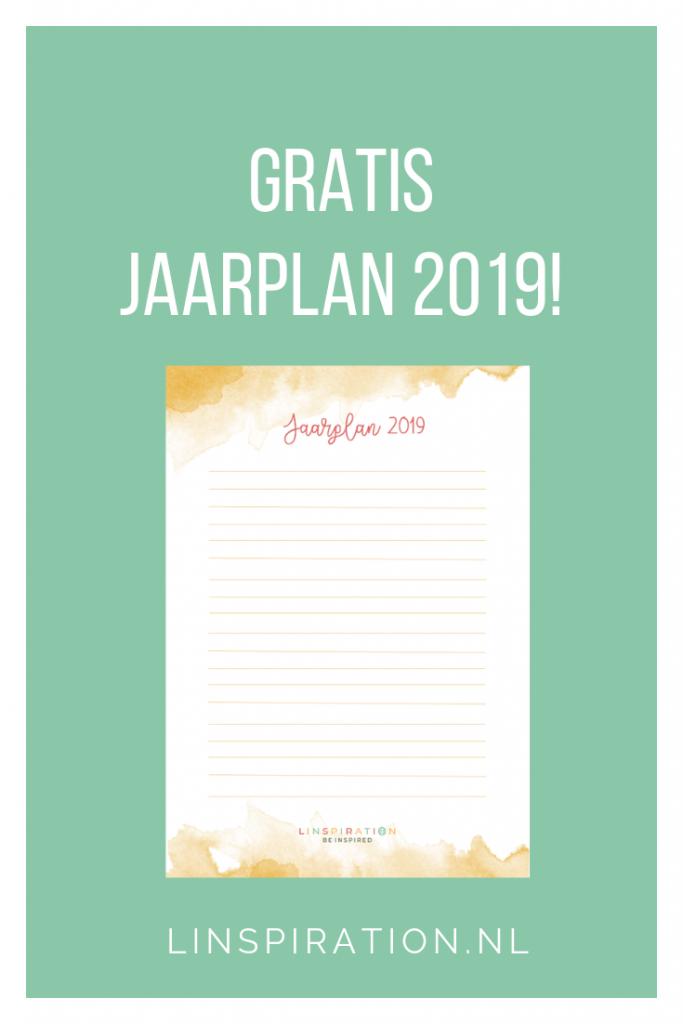 Gratis jaarplan 2019! Linspiration.nl