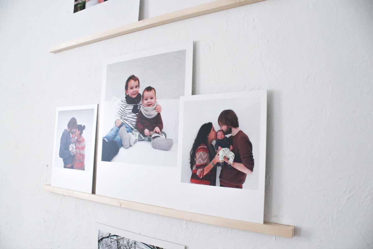 Photo wall persoonlijke foto's in je interieur DIY