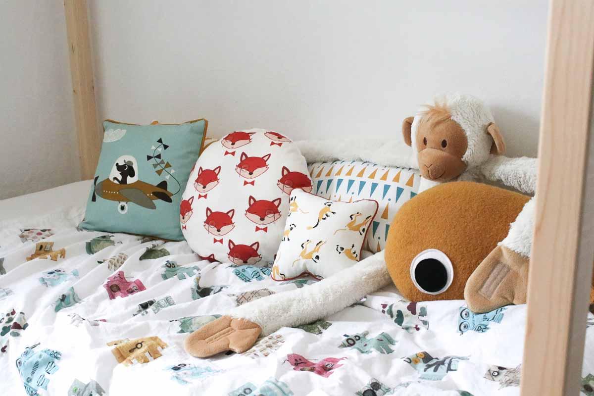 Vrolijke kussens voor de kinderkamer die je zelf kunt maken