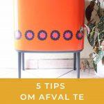 5 tips om afval te scheiden