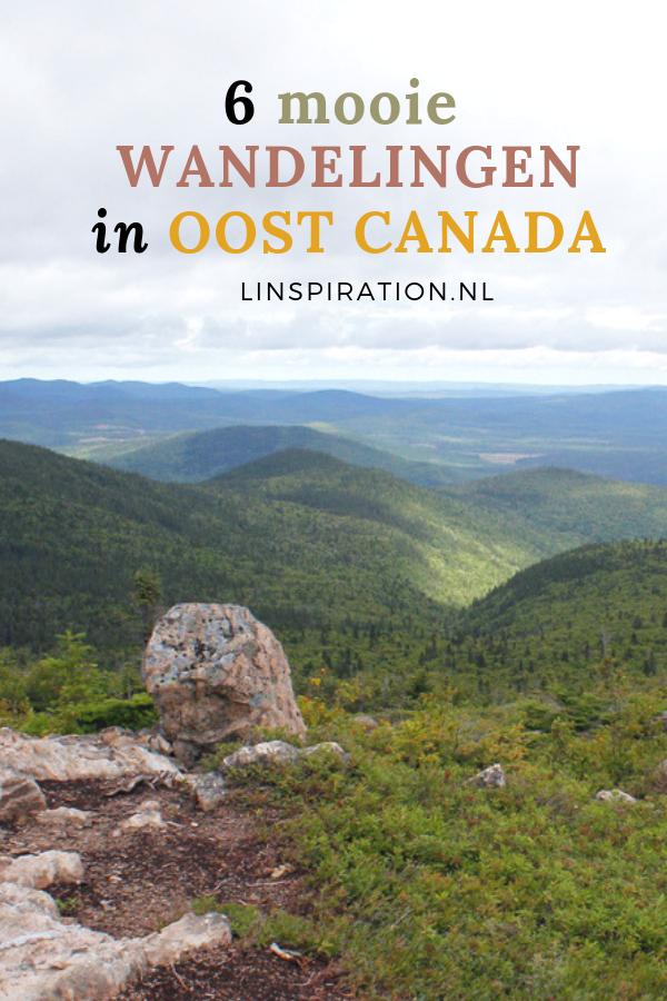 Zes wandelingen Oost Canada