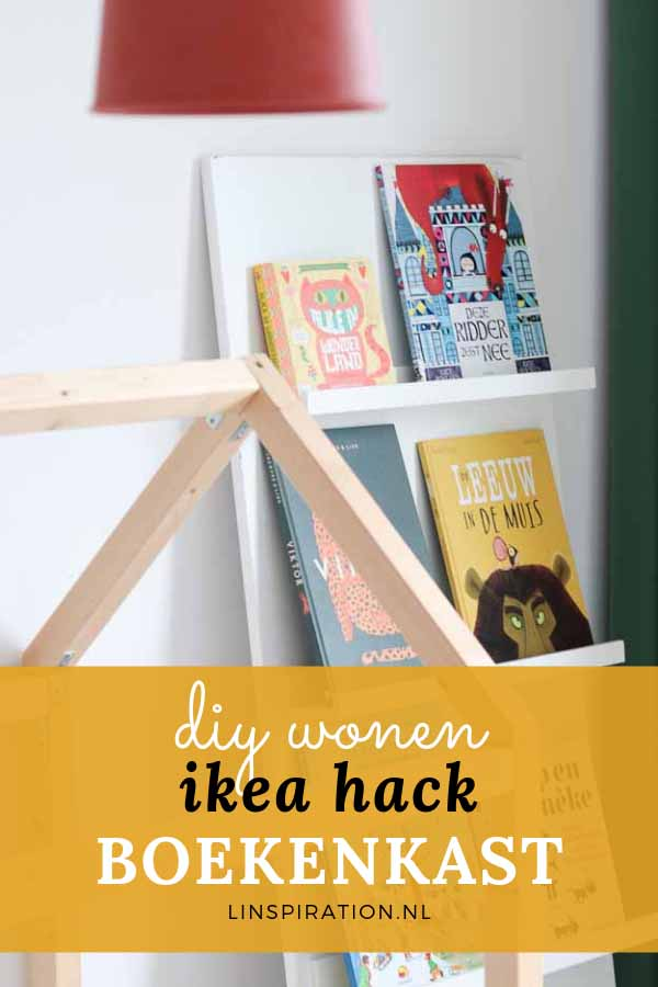 DIY: maak je eigen boekenkast