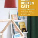 DIY IKEA hack boekenkast kinderkamer
