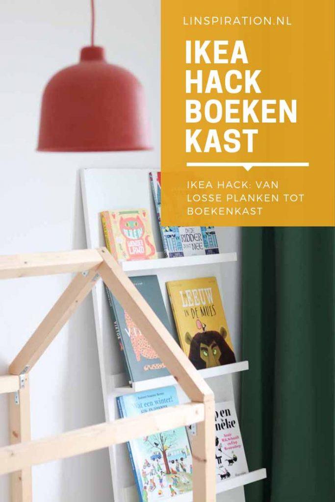 IKEA hack DIY boekenkast kinderkamer