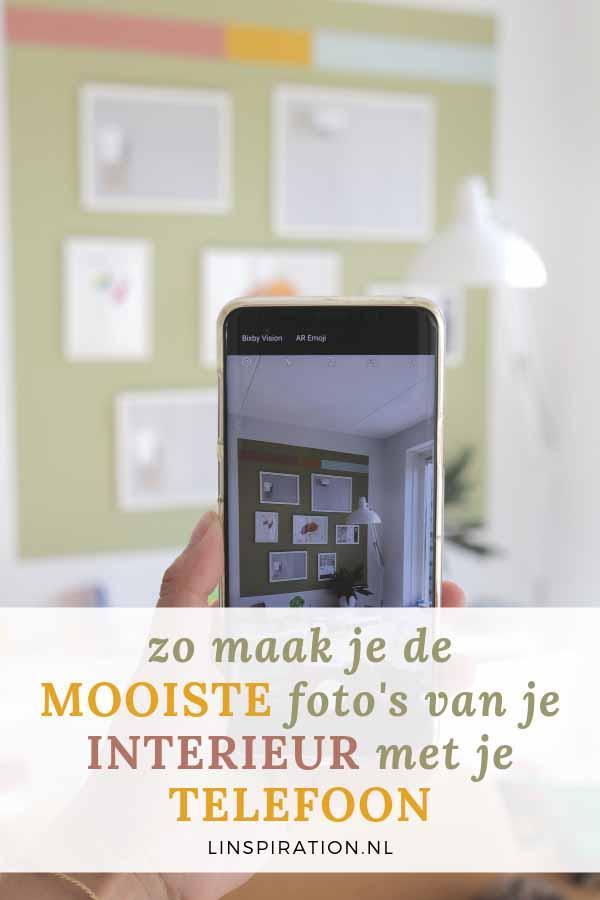 Zo maak je de mooiste foto's van je interieur met je telefoon
