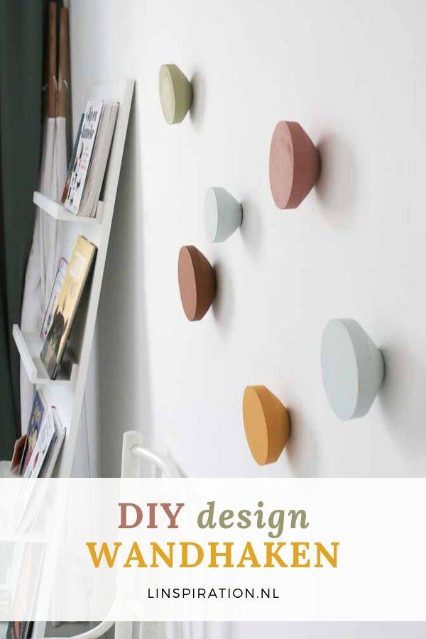 DIY design wandhaken voor in huis