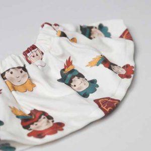 Rokje Sint en Piet sinterklaas kleding