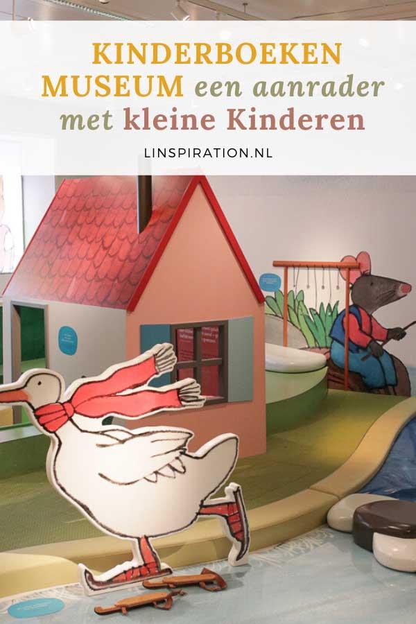 Kinderboekenmuseum een aanrader met kleine kinderen