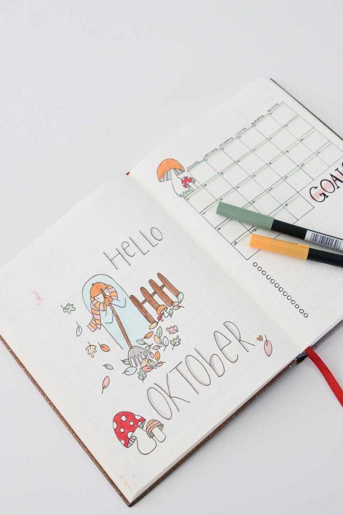 Inspiratie voor jouw bullet journal van november