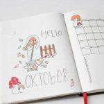 Inspiratie voor jouw bullet journal van oktober