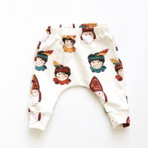 Dé leukste Sint en Piet slim broek/legging voor baby's en kinderen!