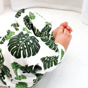 Monstera baby legging broekje