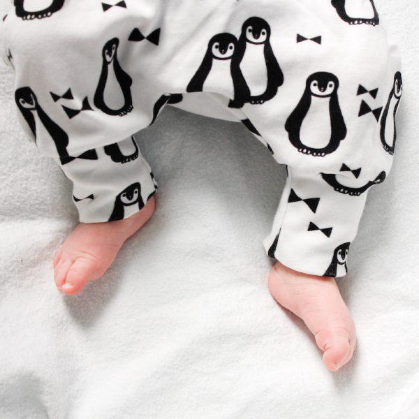 pinguïn legging broekje voor kerst