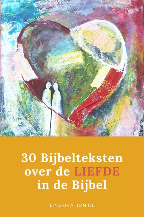 30 bijbelteksten over de liefde