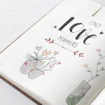 Bullet journal tekeningen hartjes