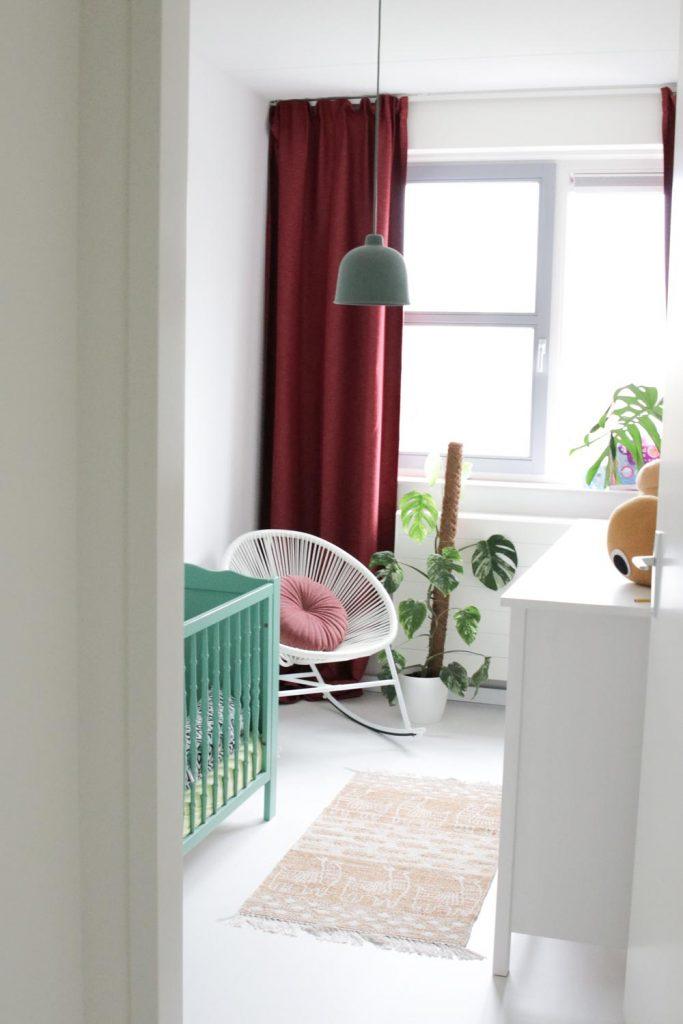 Binnenkijken in de babykamer bij Lindi