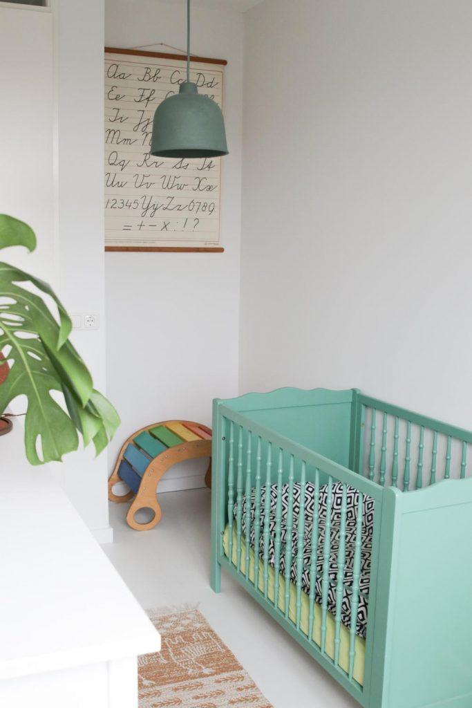 Binnenkijken in de babykamer van Rowas