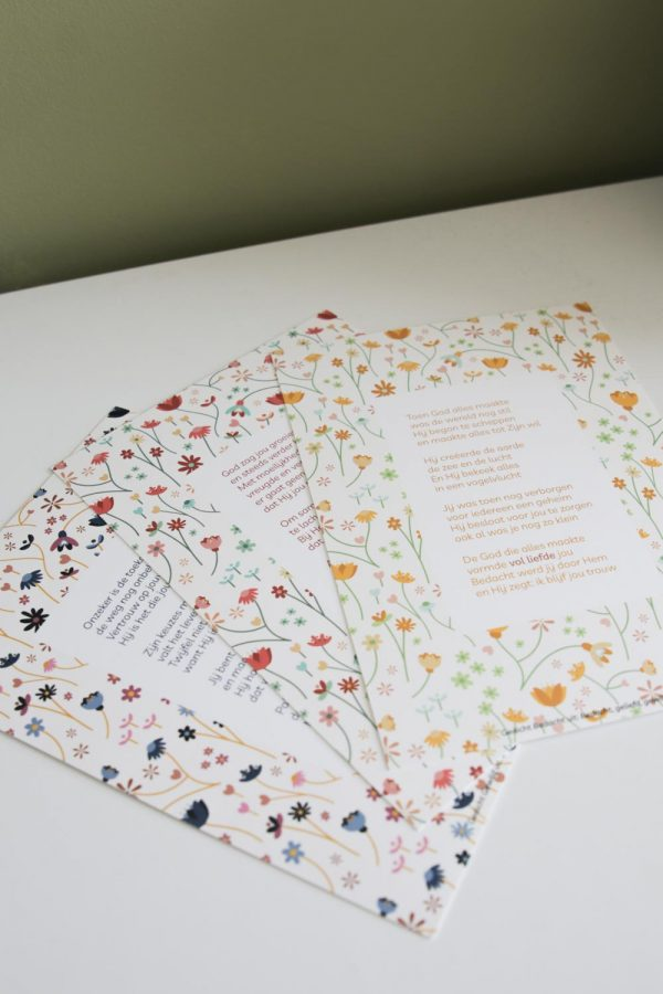 Mini-prints gedichten geloof