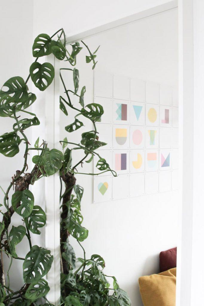Gemakkelijk je IXXI aan de muur ophangen