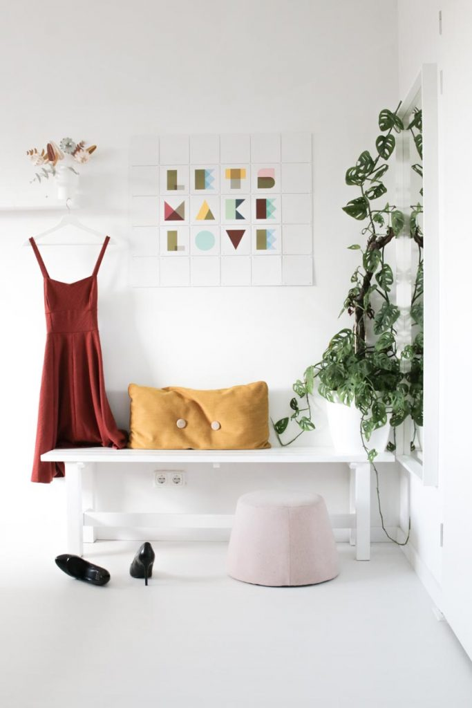 Quote box IXXI slaapkamer