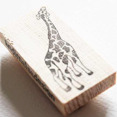 Giraffe stempel
