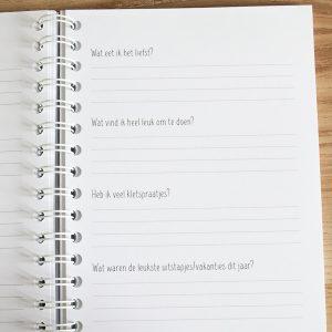 Mijn opgroeiboek FSHappiness invulpagina's vragen beantwoorden