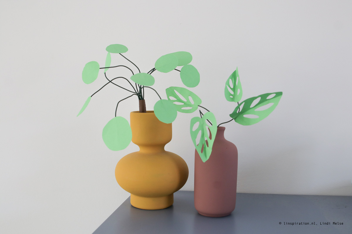 Papierplanten maken
