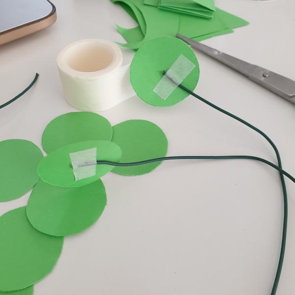 Papierplant maken