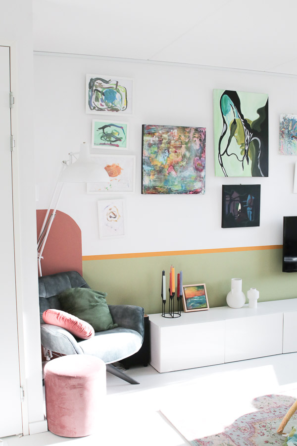 Schilderij en fotolijst ophangen zonder boren